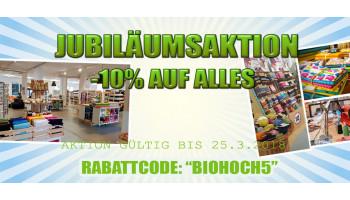 Jubiläum - 5 Jahre Biostoffe.at