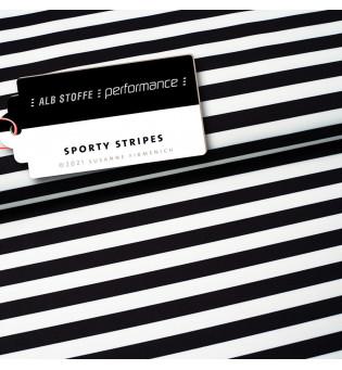 Performance Activewear Jersey Sporty Stripes schwarz 2. WAHL