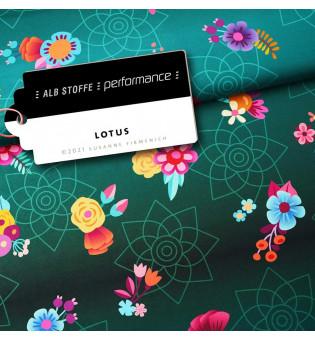 Performance Activewear Jersey Lotus grün