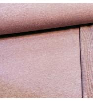 Reststück 40 cm Winter Mélange Sweat bordeaux