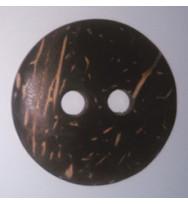 Kokosnuss-Knopf 34 mm