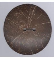 Kokosnuss-Knopf 40 mm