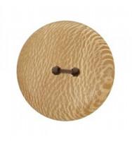 Platanenholzknopf 34 mm