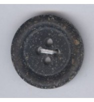 Recycling-Knopf schwarz 20 mm