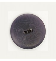 Knopf Steinnuss jeansblau 23 mm