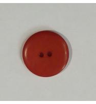 Knopf Steinnuss rot 18 mm