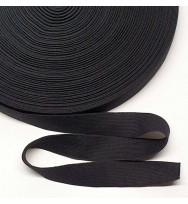 Einziehgummi 28 mm schwarz