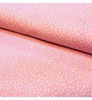 Flanell Confetti pink