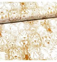 Popeline Wild Thing gold