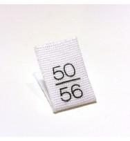 10 Größenlabel 50/56