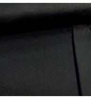 Doubleface-Strick-Interlock schwarz