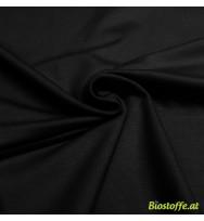 Stretch-Kuschelsweat schwarz