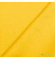 Reststück 38 cm Sommersweat gelb