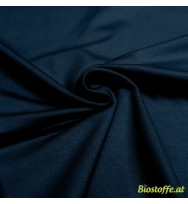 Stretch-Kuschelsweat navy