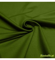 Stretch-Kuschelsweat moosgrün