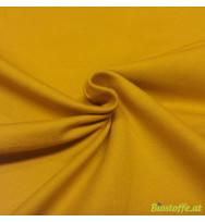 Stretch-Kuschelsweat mustard