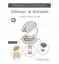 Schnittmuster Fadenkäfer Mützen- und Schalset