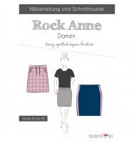 Schnittmuster Fadenkäfer Damen-Rock Anne