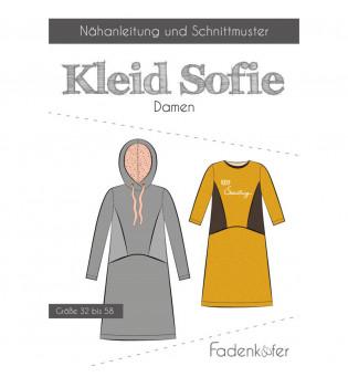 Schnittmuster Fadenkäfer Damenkleid Sofie