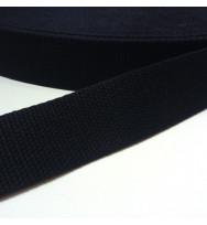 Gurtband 40 mm schwarz