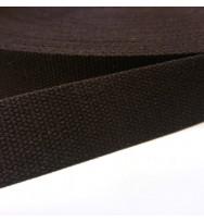 Gurtband 40 mm dunkelbraun
