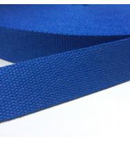 Gurtband 40 mm blau