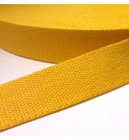 Gurtband 40 mm gelb
