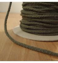 Kordel 4 mm graugrün