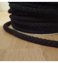 Kordel 8 mm schwarz