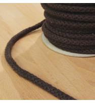 Kordel 8 mm dunkelbraun