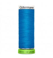 Nähgarn rPET 100 m - blau 386