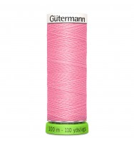 Nähgarn rPET 100 m - princess pink 758