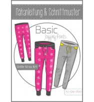Schnittmuster Kibadoo Basic-Joggingspants Kinder