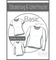 Schnittmuster Kibadoo Basic-Damenshirt/-tunika