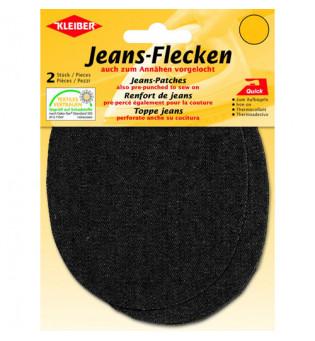 Jeans-Flecken schwarz