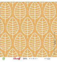 Sommersweat Herbstblatt senf