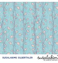 Popeline Susalabims Silbertaler