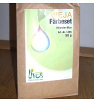Stoff-Färbeset Baumwolle/Leinen holunderblau