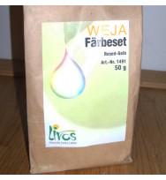 Stoff-Färbeset Baumwolle/Leinen catechu-rotbraun