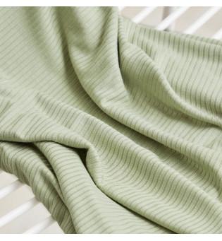 Reststück 57 cm Derby Ribbed Tencel-Jersey soft mint