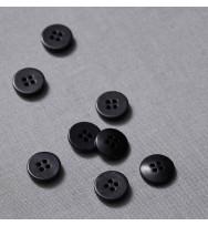 Knopf Steinnuss 15 mm black