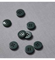 Knopf Steinnuss 15 mm deep green