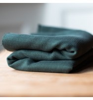 Tencel-Web-Jacquard deep green