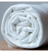 Reststück 28 cm Tencel-Jersey bright white