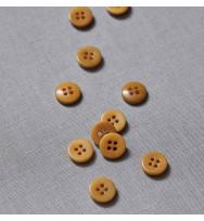 Knopf Steinnuss 11 mm amber