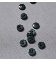 Knopf Steinnuss 11 mm emerald