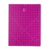 Schneiderunterlage 45 x 60 cm pink