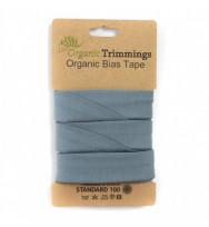Jersey-Schrägband 3 m dusty blue