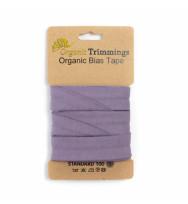 Jersey-Schrägband 3 m lilac
