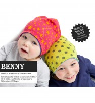 Schnittmuster Wendebeanie Benny